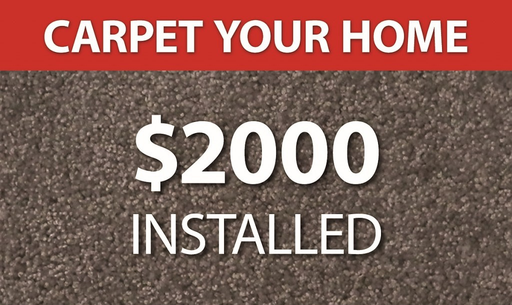 Carpet your home! $2,000 installed