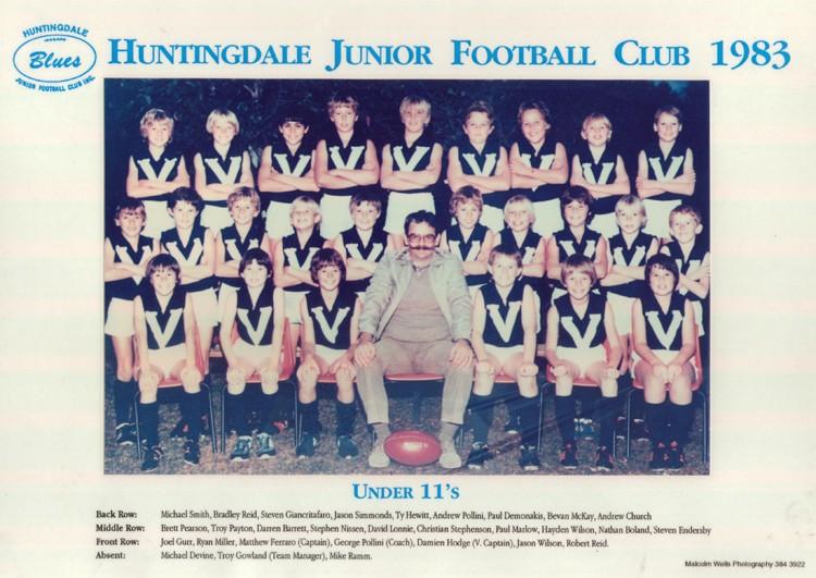 1983 Under 11s