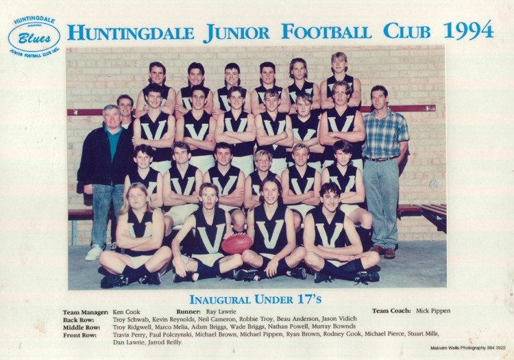 1994 Inaugural Under 17s