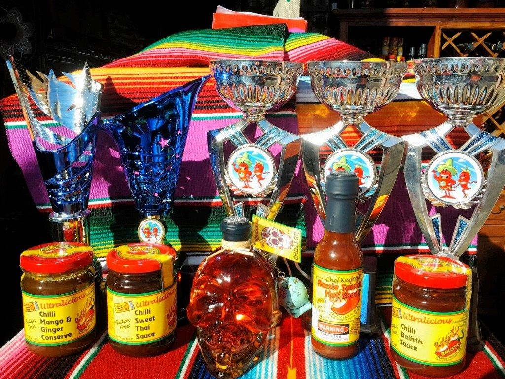 Awards won at 2016 Mister Chili contest