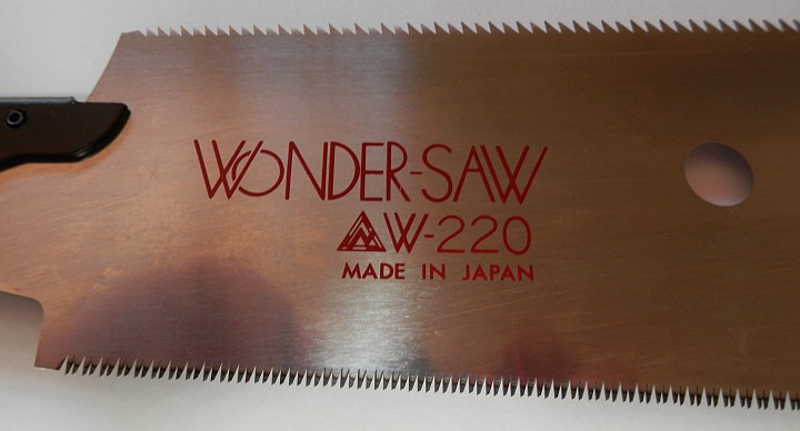 Big 4 Wondersaw W-220 length 220mm close up