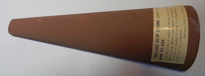 Cone Gouge Slip Stone 1000 Grit