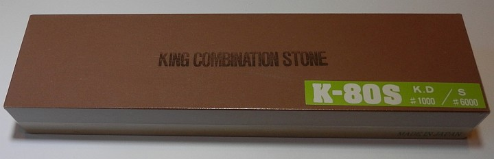 King Combination Stone K-80s 1000 and 6000 grit