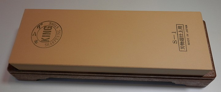 King Sharpening Stone 6000 grit 210mm by 73mm by 22mm pic 1