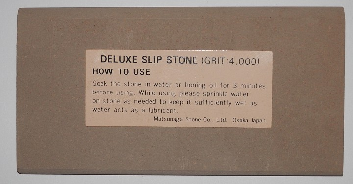 Sun Tiger Deluxe water Slip Stone 4000 Grit 4 inch by 2 inch by half inch by one eighth inch