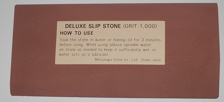 Sun Tiger Multiform deluxe Slip Stone 1000 Grit 110 x 50 x 10mm