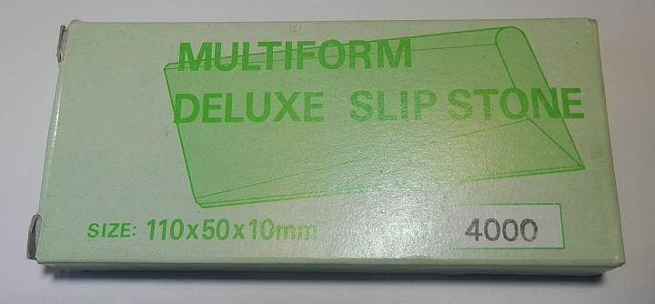 Sun Tiger Multiform deluxe Slip Stone 4000 Grit 110 x 50 x 10mm box