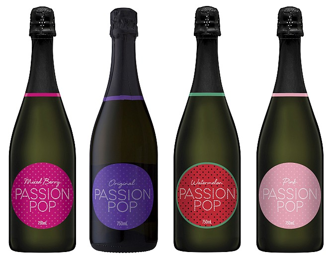 Passion Pop Wine Ranges