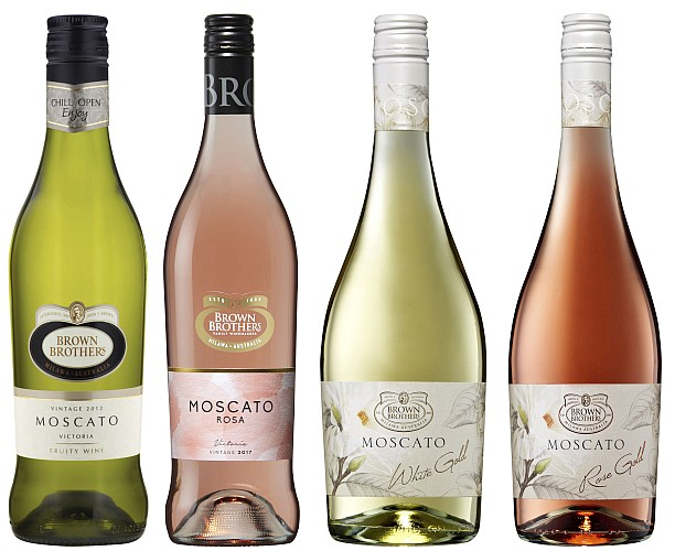 Brown Bros Moscato Range Small